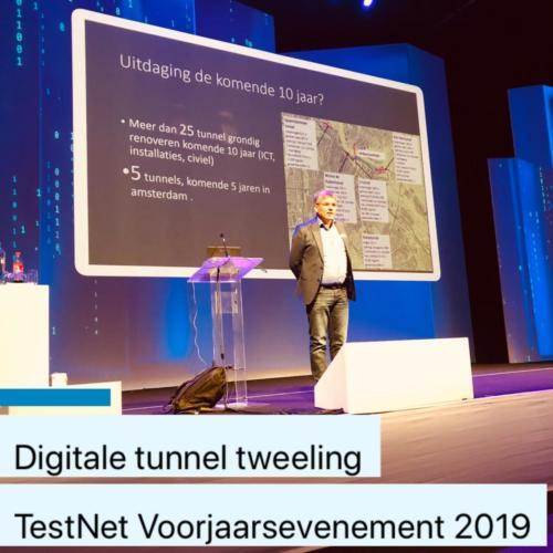 Digitale tunnel tweeling